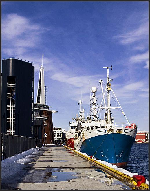 Fishing boats downtown Tromsø