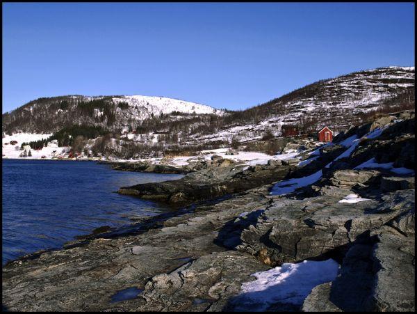 Huts at Ryastrømen Tromsø