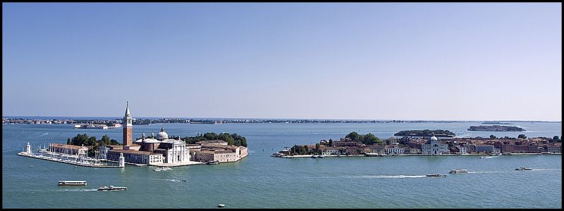 Panorama from Venice