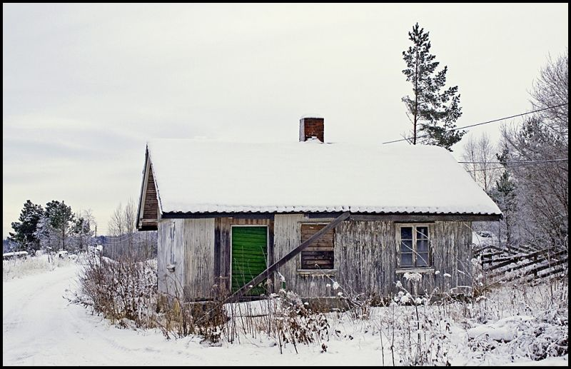 A old bulding on a farm in Norway