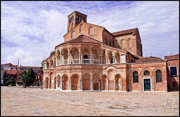 A church on Murano