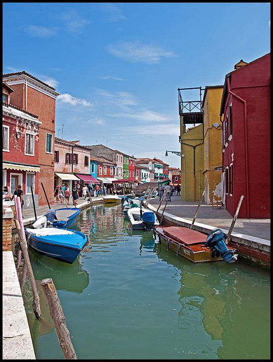 Canals on Burano