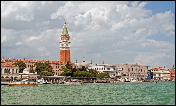 View from Salute to St. Marks in Venice