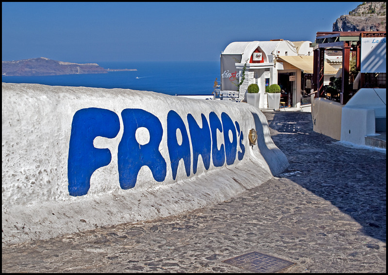 A lovley view on Santorini (Francos)