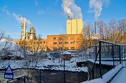 The paper factory in Moss from Møllebyen