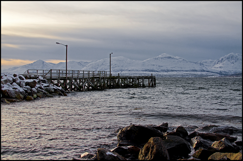 View from bukta in Tromsø
