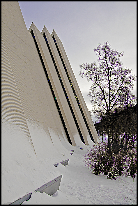 The Arctic Cathedral in Tromsø