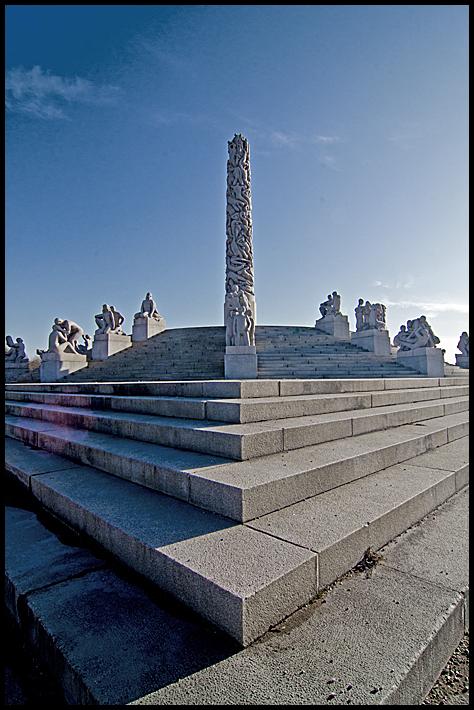 The monolith in Vigelandsparken