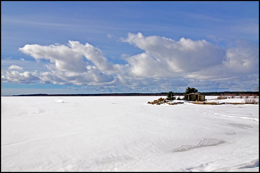 Outside Umeå in Sweeden