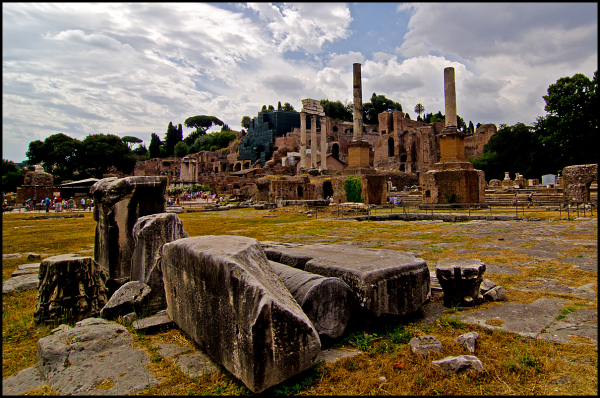 From the Roman forum