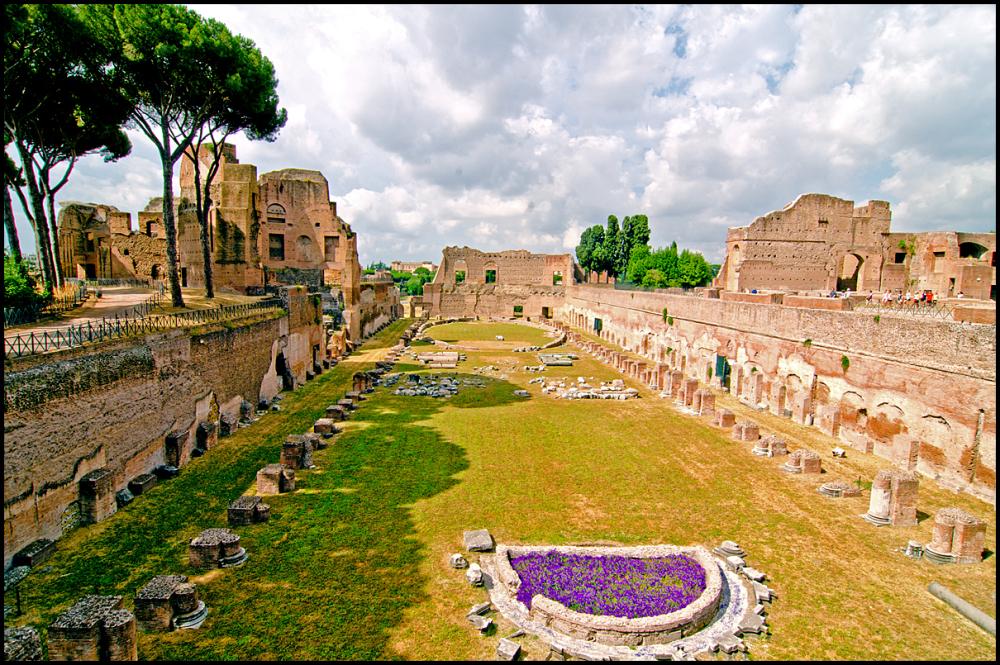 Palentine Arena in Rome
