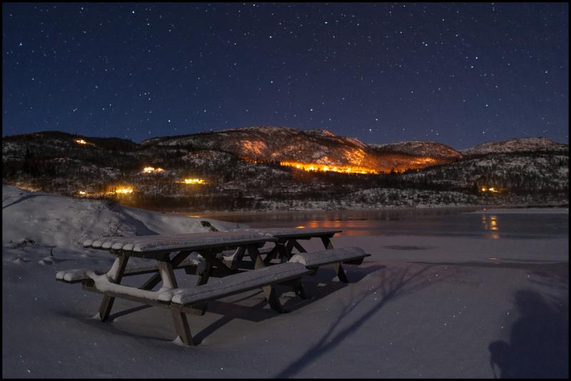 Winternight at Frøystul