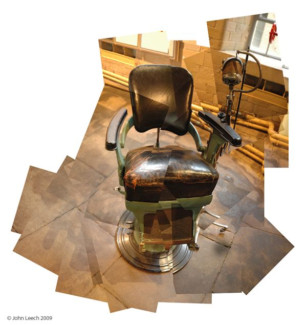 Dentist's chair in the 1853 Gallery
