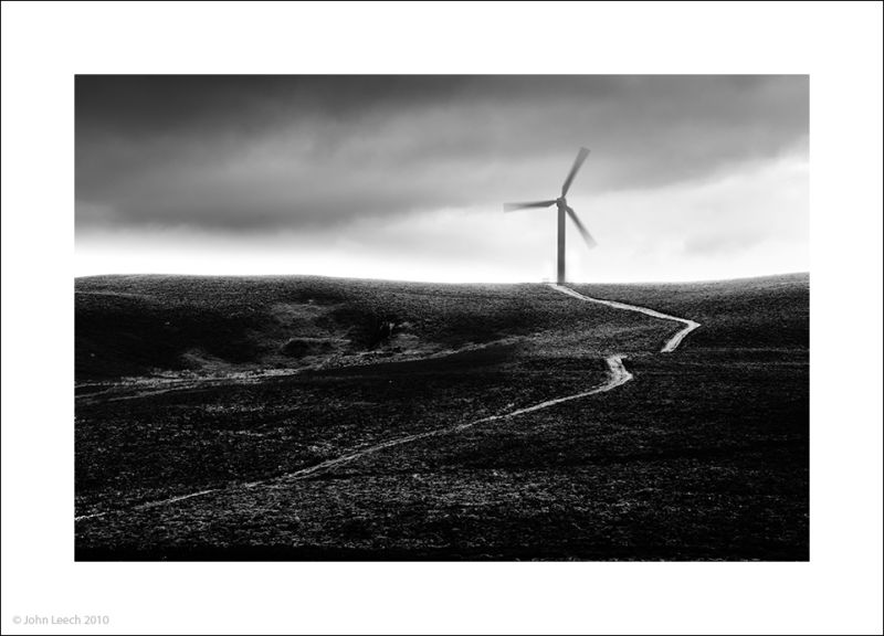 windmill kirkby moor lake district black white