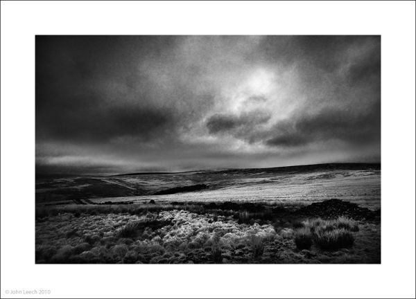 wuthering pennine black white