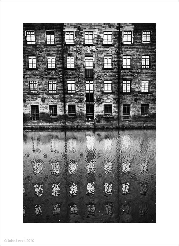 mill todmorden yorkshire black white