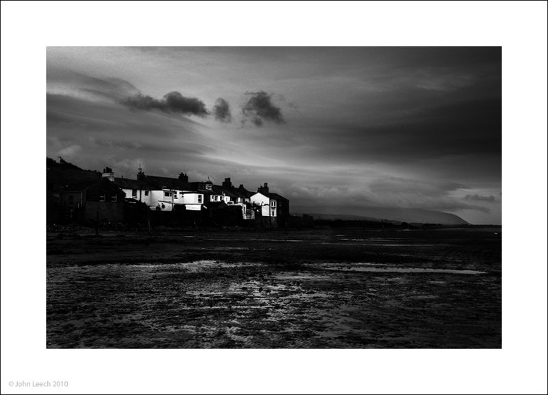 ravenglass black white photo