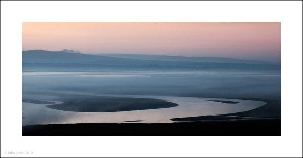 morecambe bay grange over sands john leech colour