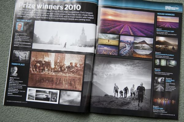 Competition success, Digital SLR User Magazine
