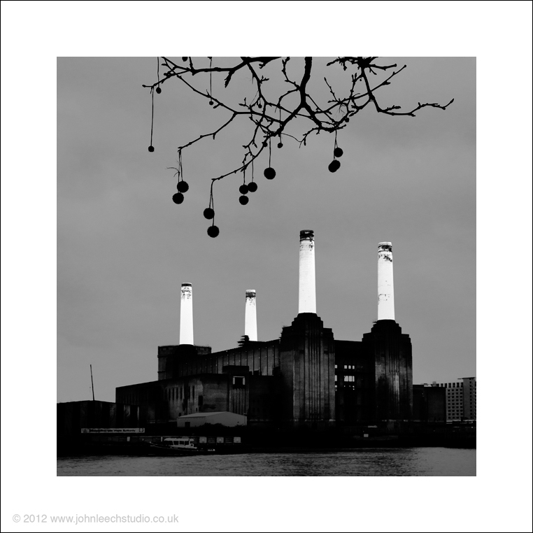 battersea black and white creative photography