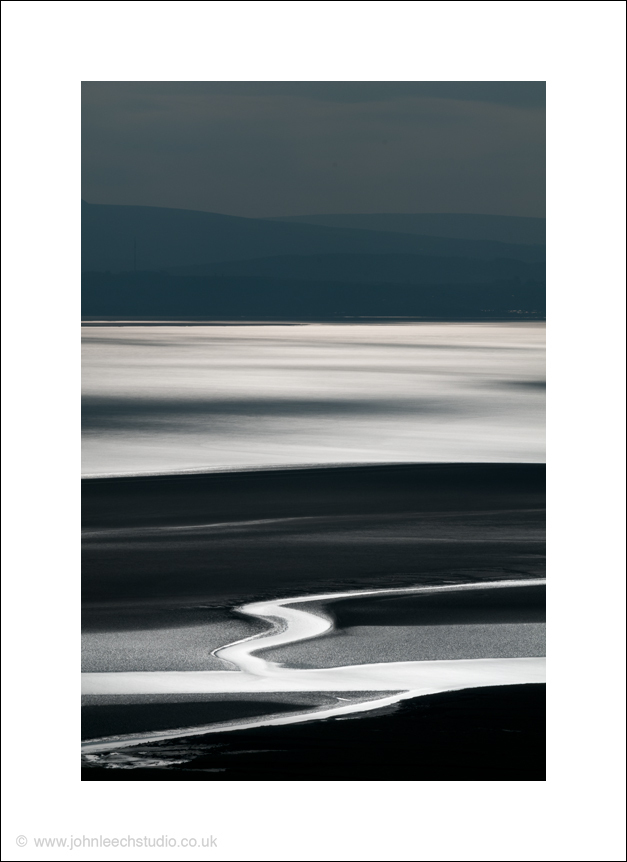 morecambe bay bright light landscape