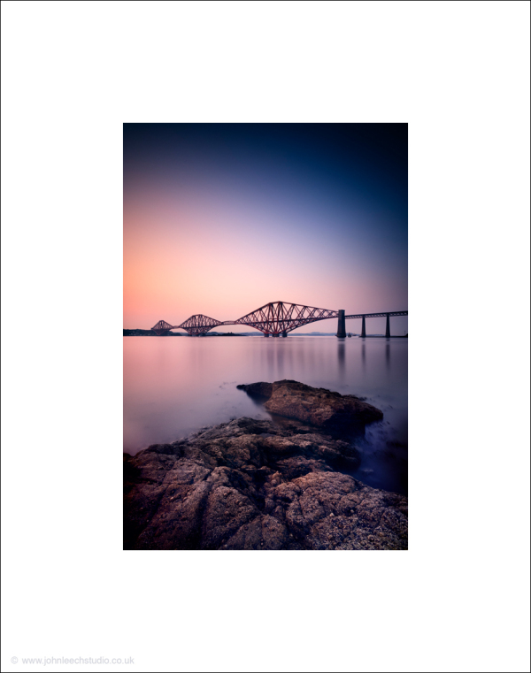 forth rail bridge dramatic photograph