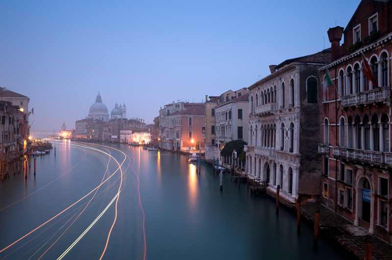Venice, The Grand Canal + Santa Maria della Salute