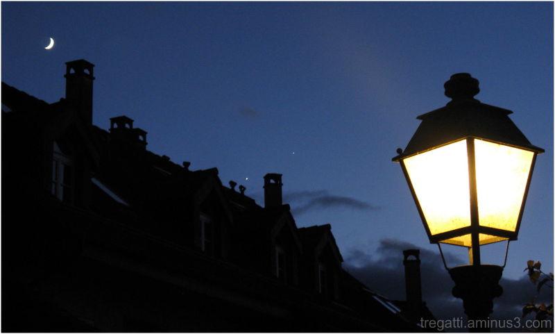 lamp, moon, venus, jupiter