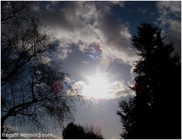 sky, sunlight