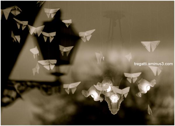 origame, butterflies