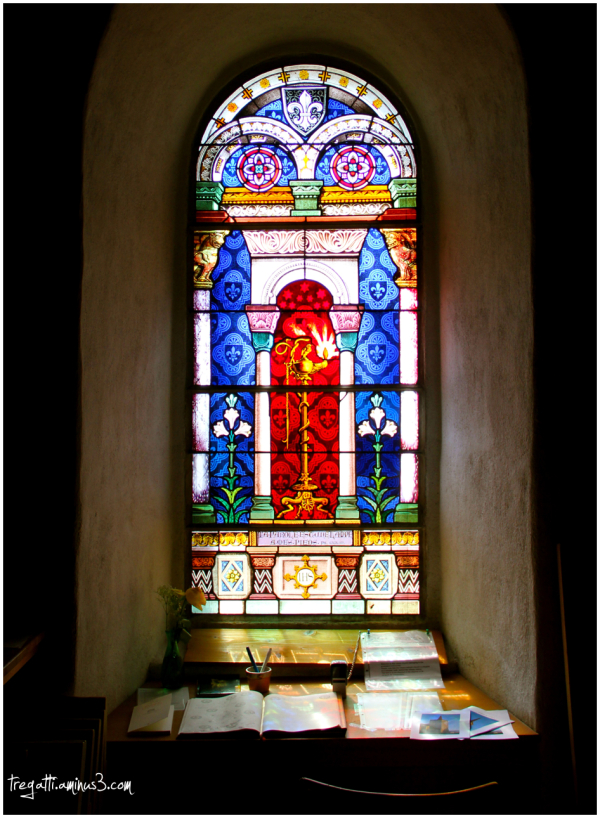 stained glass, church