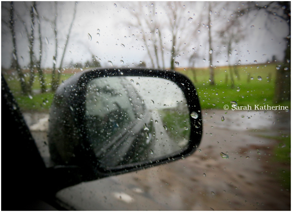winter, rain