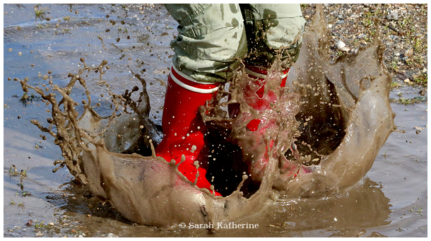 puddle, wellies, spring, agile