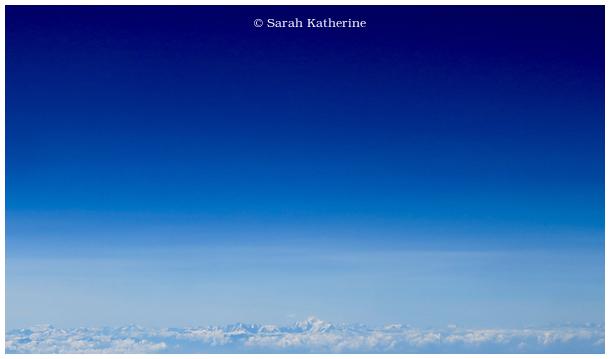mountains, alps, mont blanc, blue sky