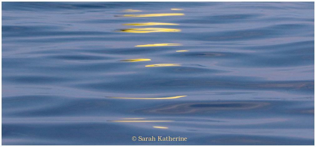 lake, light