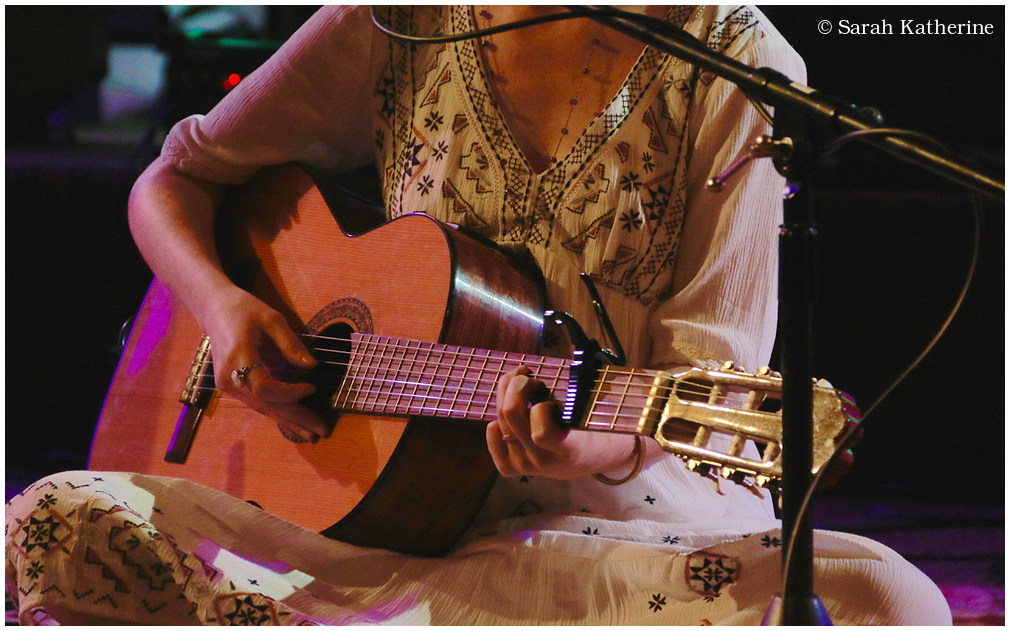 Ajeet Kaur music guitar hands
