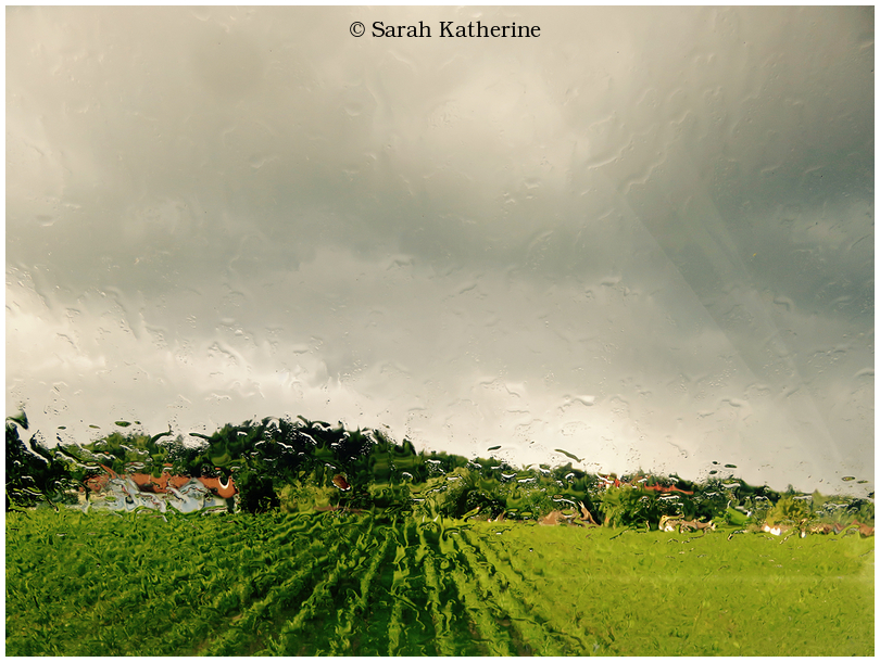 rain, clouds, window