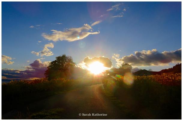 sun, source, road, sky, cloud, angel