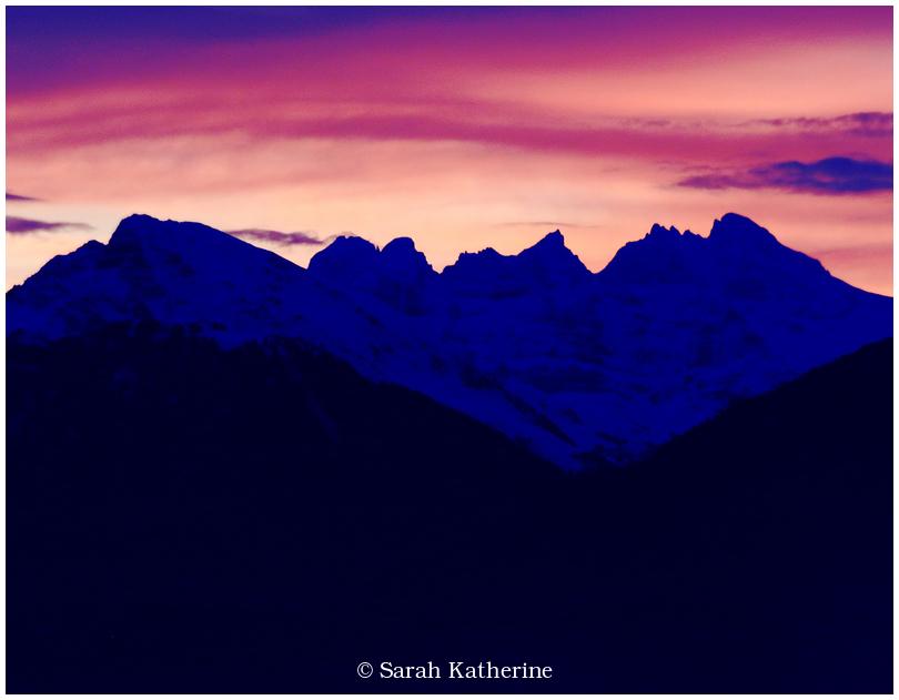 alps, sky winter