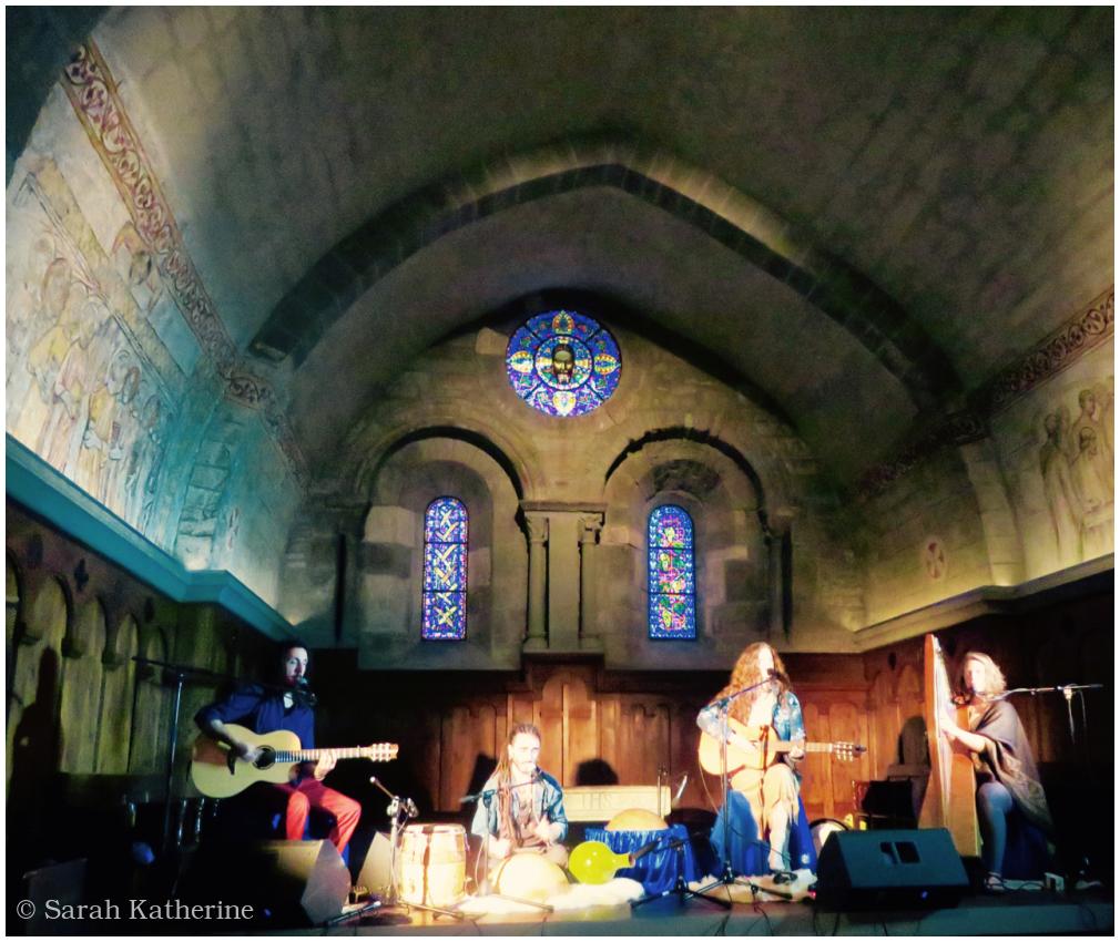 concert, temple, ajeet kaur, ezra landis music