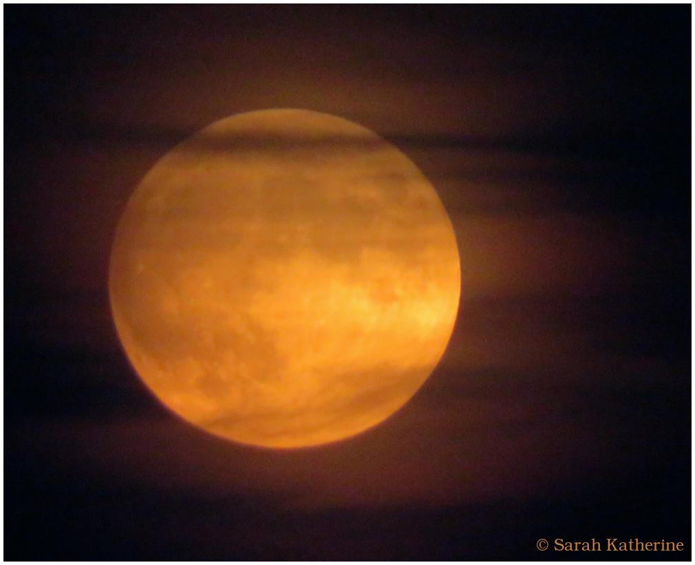 moon, full, thunder, eclipse