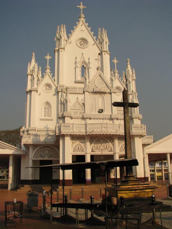St.Marys Church, Manarcad, Kottayam, Kerala