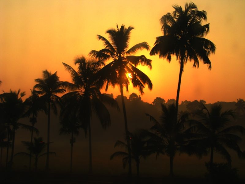 A brilliant sunrise in God's own country!