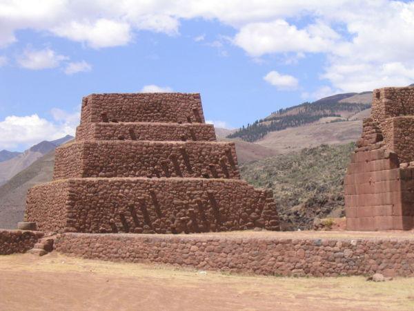 Ancien poste de douanes sur la route de Cusco
