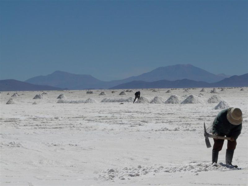 Bolivie sel lac Uyuni