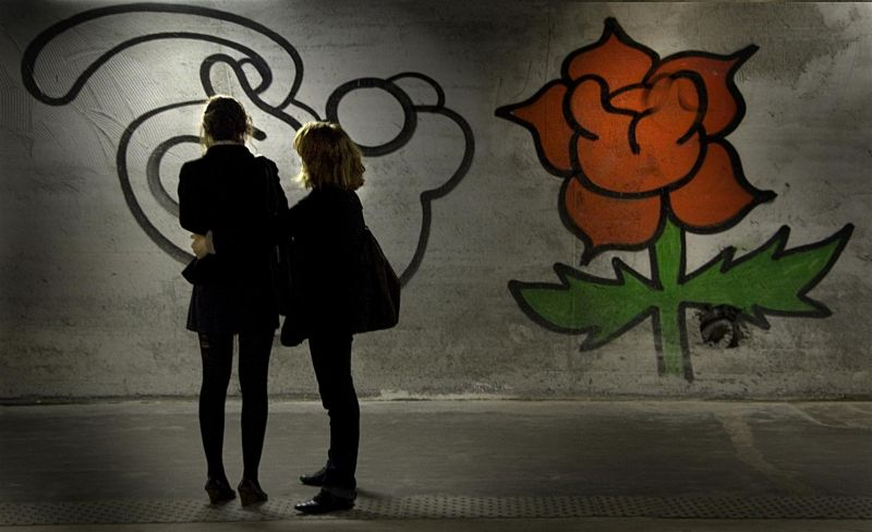 La rose et le réséda