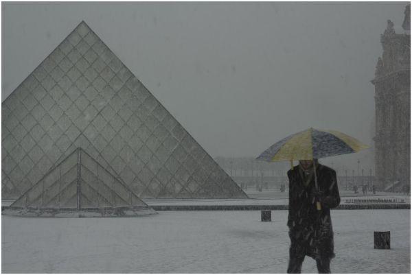 Paris neige