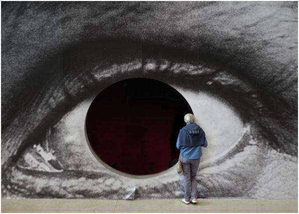 Du coin de l'oeil