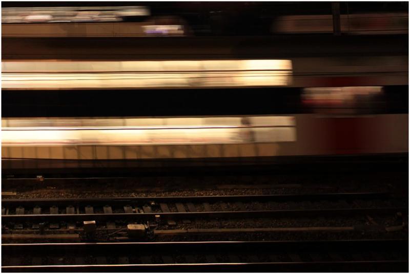 l'immobilité des rails
