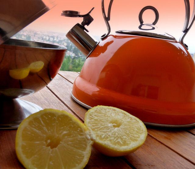 té al limón...
